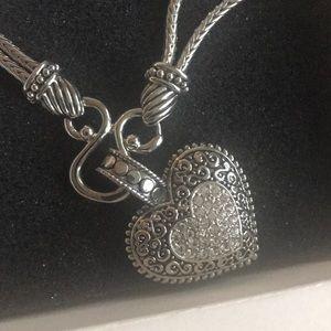 Lia Sophia Jewelry - Heart shaped Lia Sophia Necklace